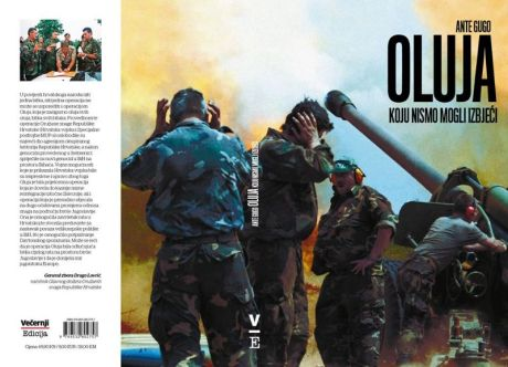 """Cover of original book by Ante Gugo in the Croatian Language """"The Storm Which We Could Not Avoid"""""""