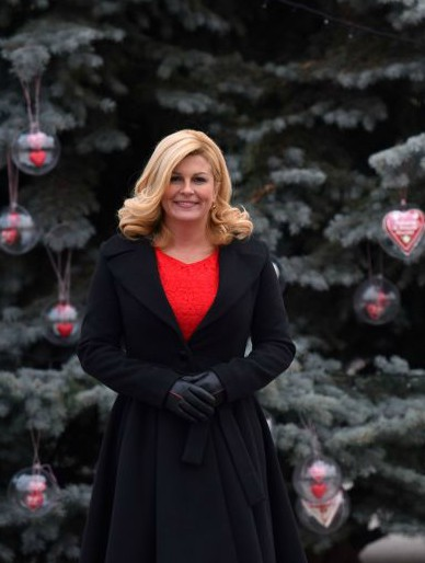 President of Croatia Kolinda Grabar-Kitarovic Photo: www.predsjednica.hr