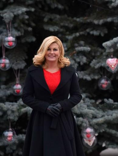 President of Croatia Kolinda Grabar-Kitarovic Photo: www.predsjednica.hr