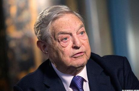 George Soros Photo: Bloomberg NE WP