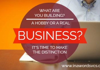 building a real business, home business