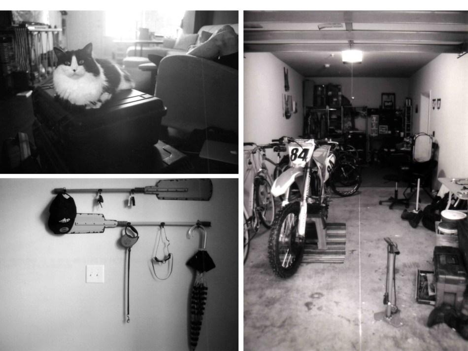 garage and pad