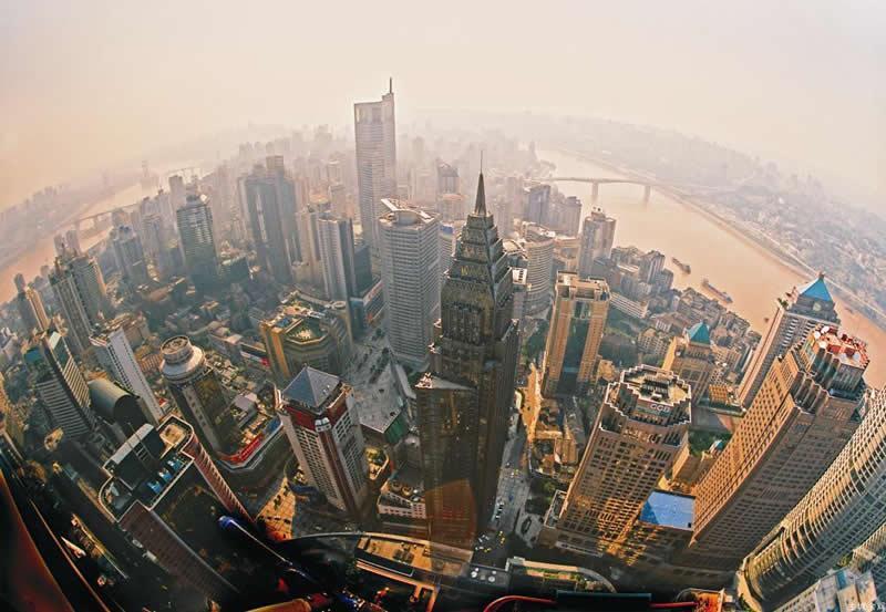 kinas största stad