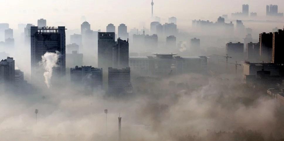 kina miljö föroreningar