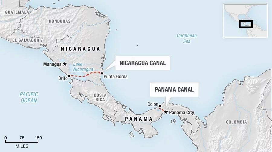 nicaragua kanal panama