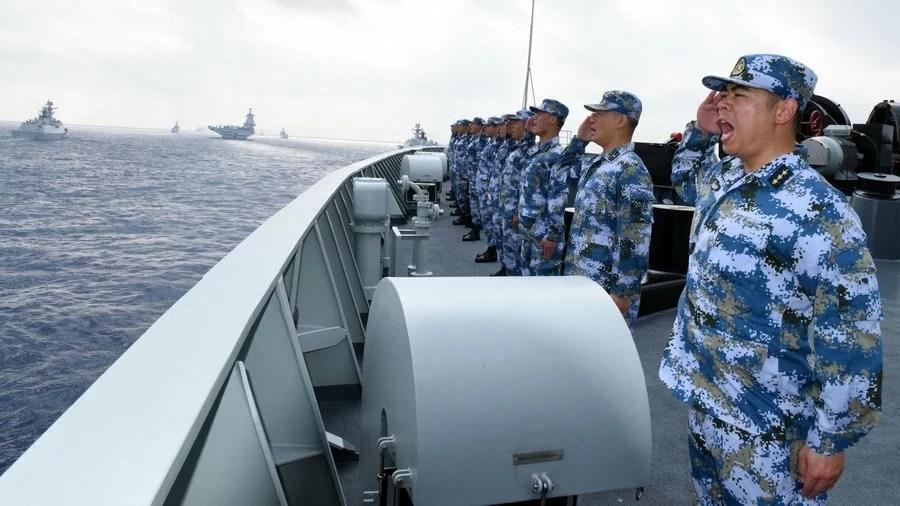 Kina genomför övning med skarp ammunition i Taiwansundet, hot om militär attack påtagligt