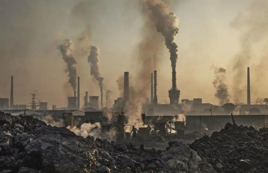 Kinas koldioxidutsläpp nu de högsta sedan 2011