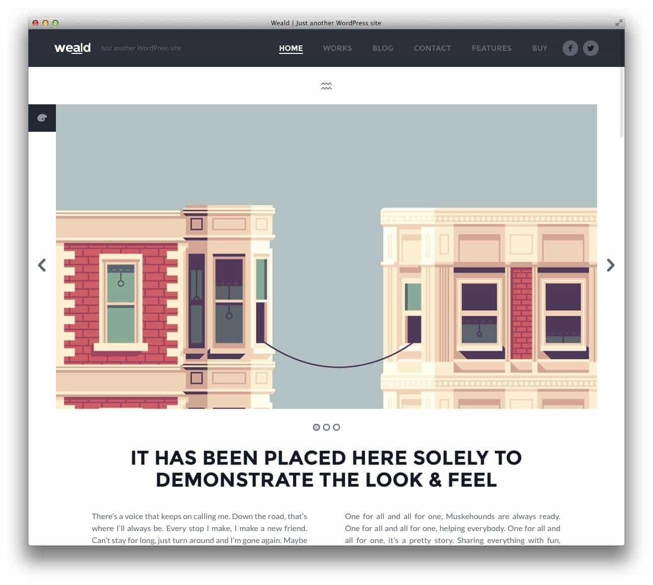 минималистские темы WordPress для бизнеса и блогов1