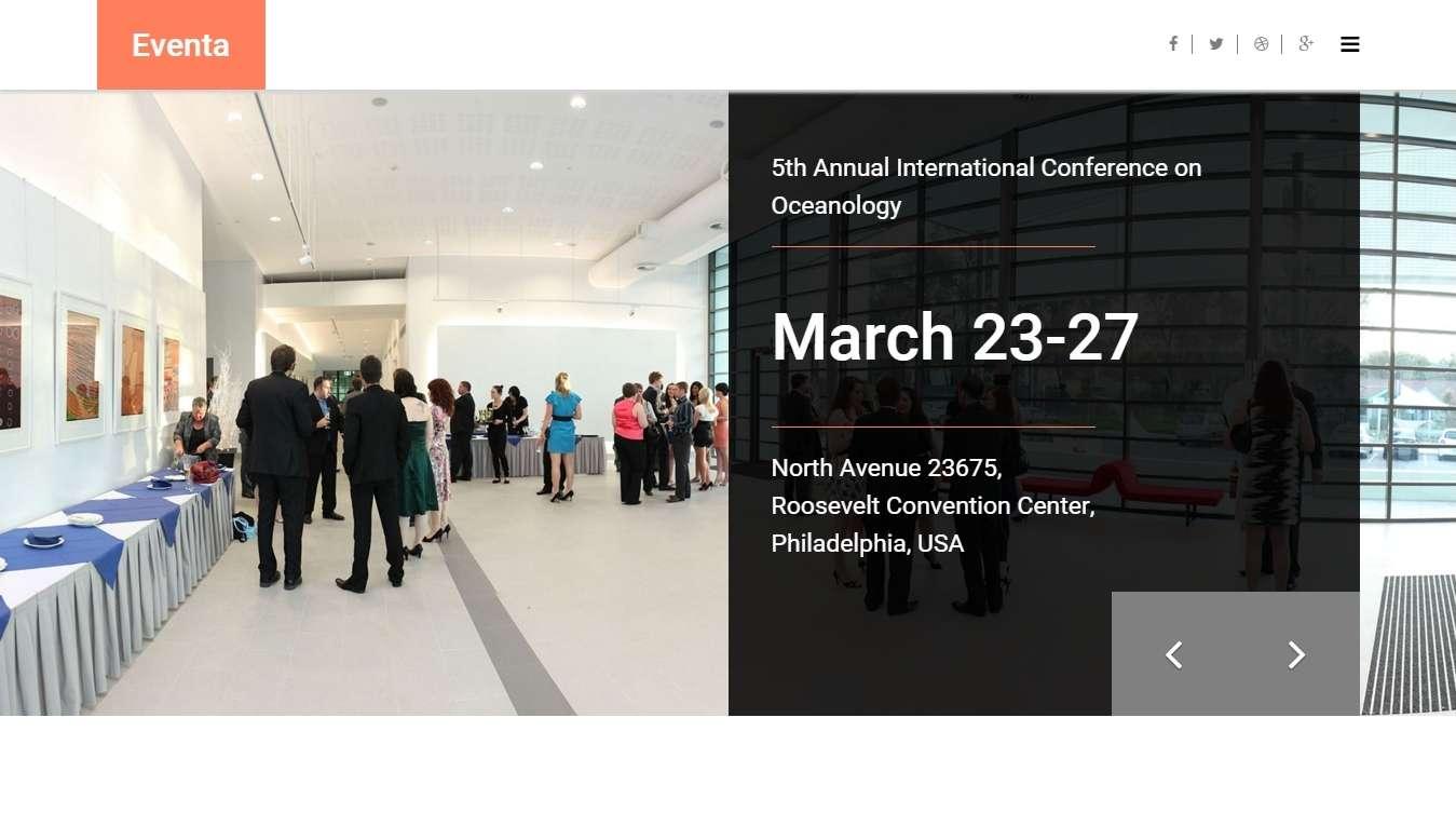 шаблон для бизнес конференций и событий (2)