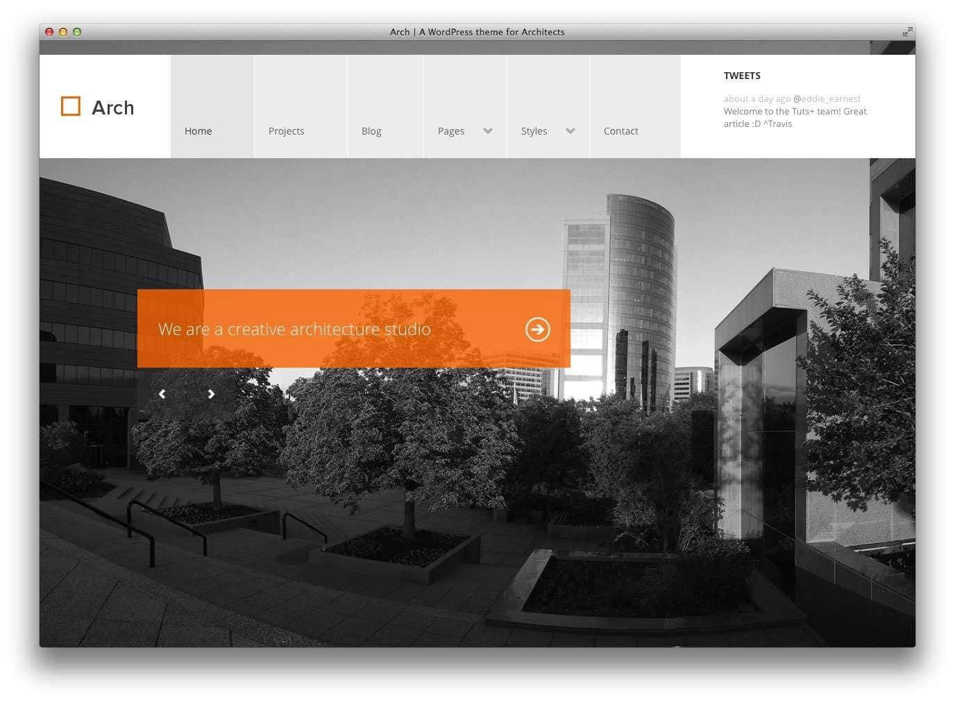 WordPress Шаблоны для архитекторов и ландшафтных дизайнеров12