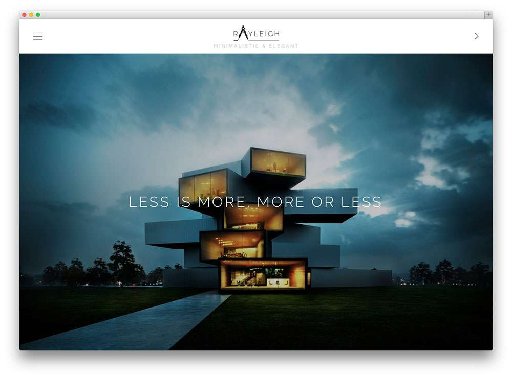 WordPress Шаблоны для архитекторов и ландшафтных дизайнеров3