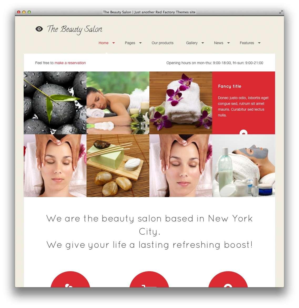 WordPress для салона красоты12