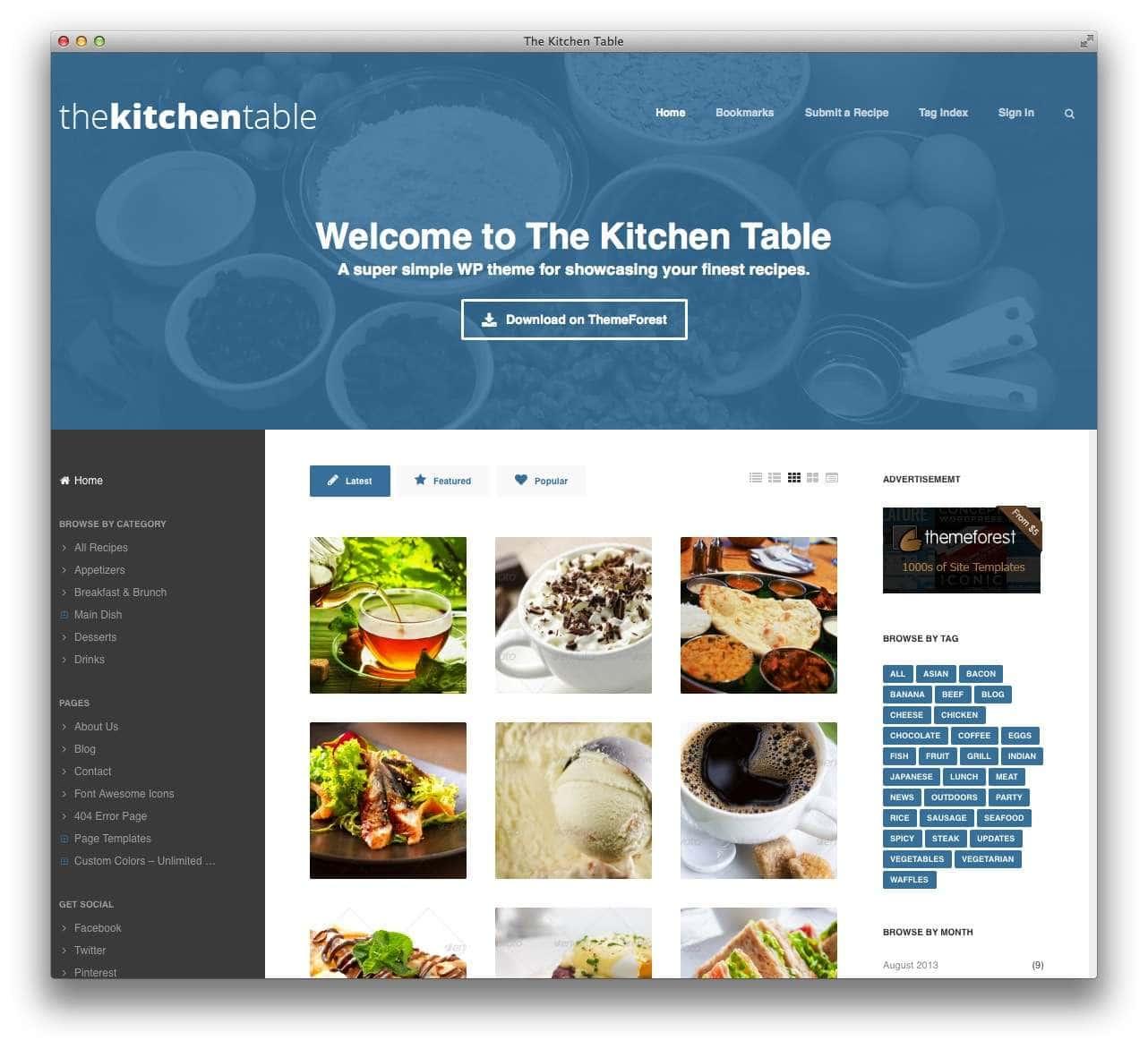 WordPress сайт для кондитерской или кофейной13