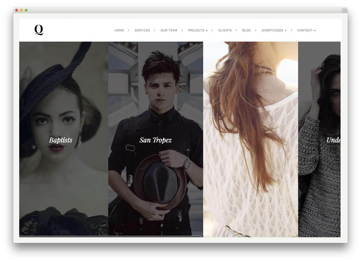 Шаблоны WordPress для портфолио 201513