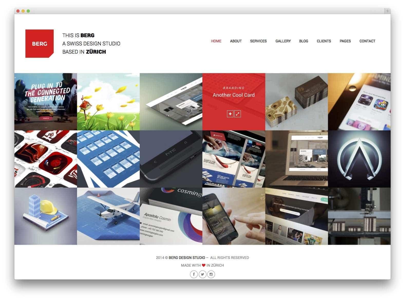 Шаблоны WordPress для портфолио 201520