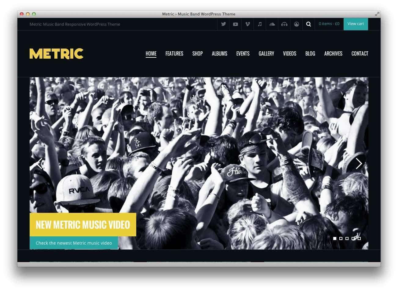 музыкальные темы WordPress 20159