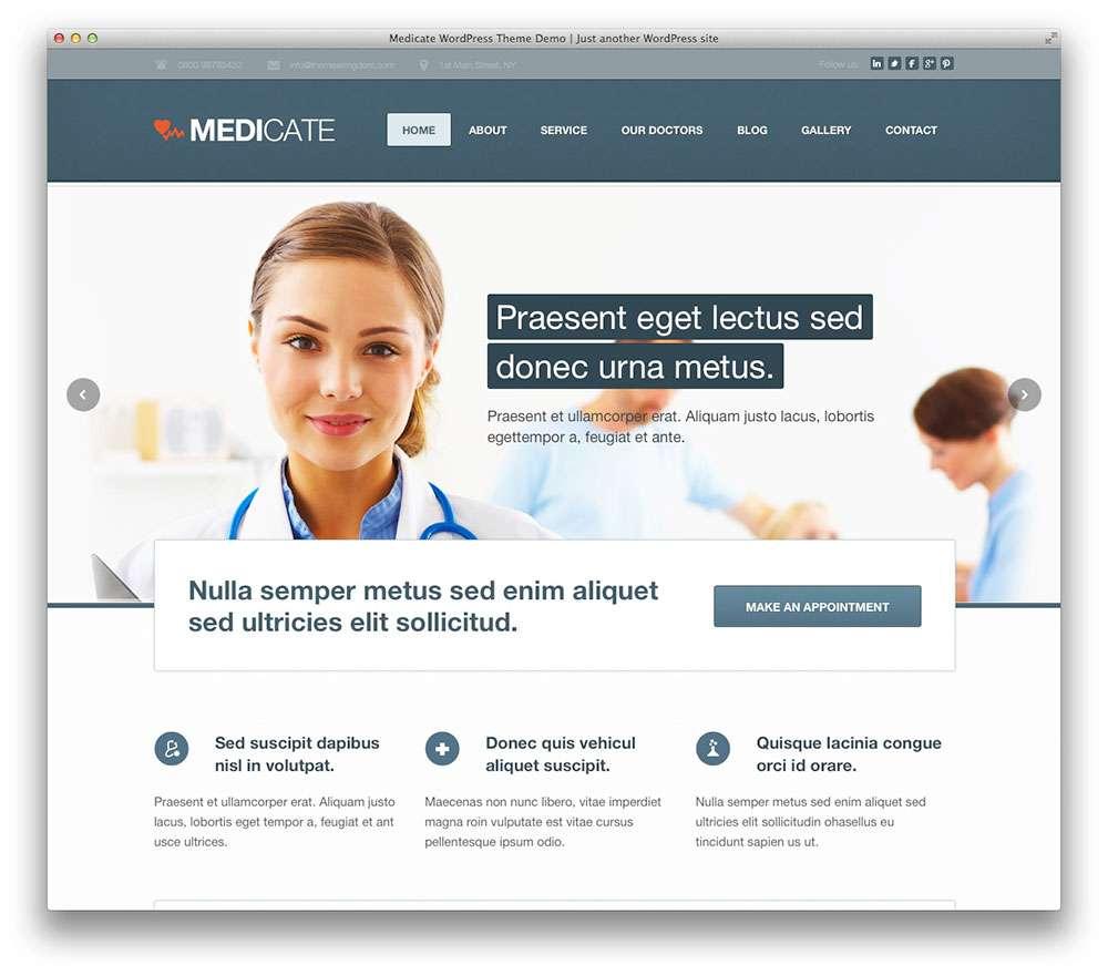 WordPress темы о здоровье 15