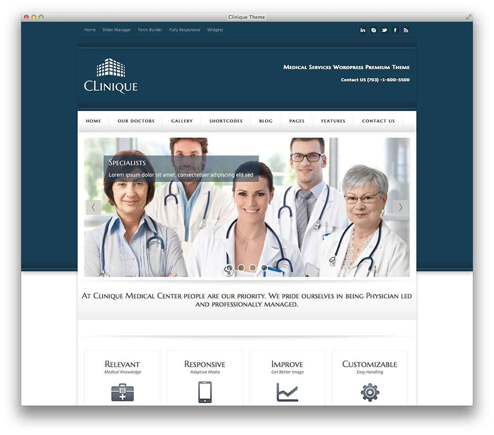 WordPress темы о здоровье 17