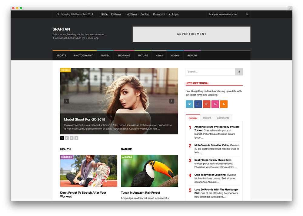 темы на WordPress для газет и новостных сайтов