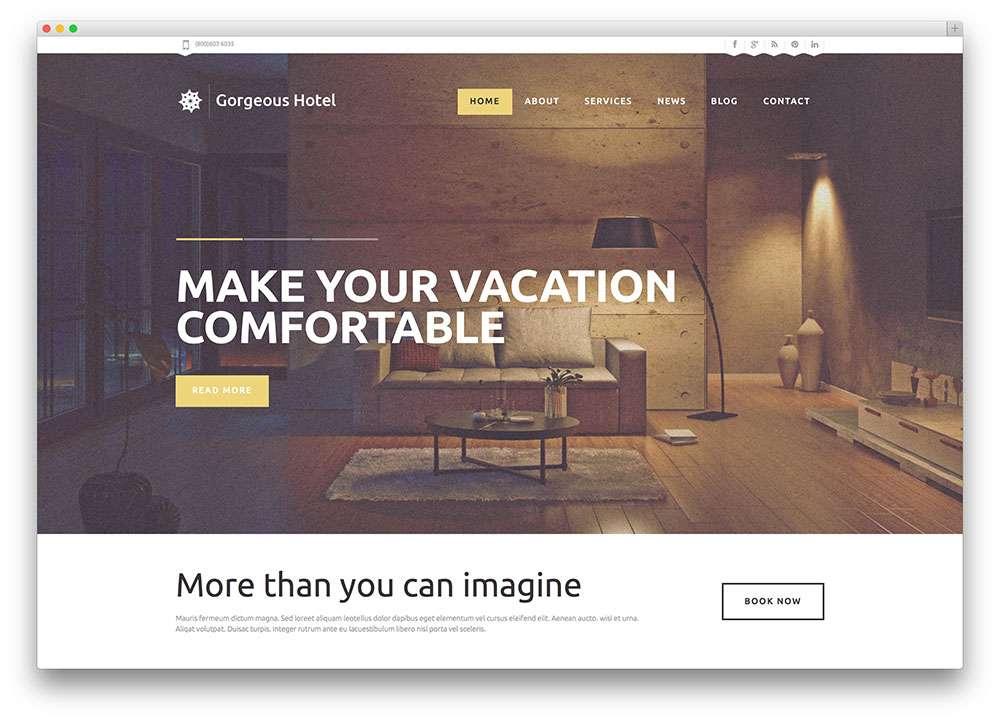 Как создать гостиничный сайт отеля на WordPress