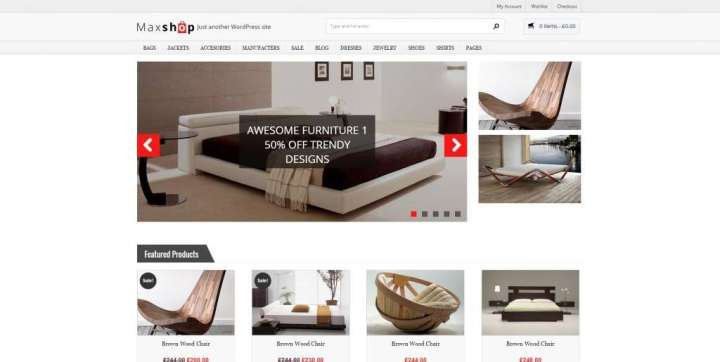 мебельный Интернет-магазин на WordPress 2016