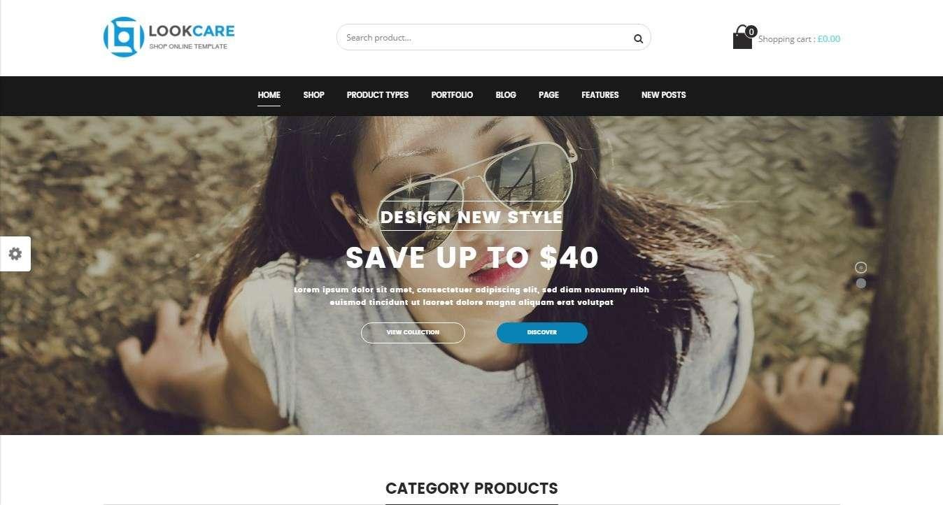 Адаптивный шаблон интернет магазина WordPress