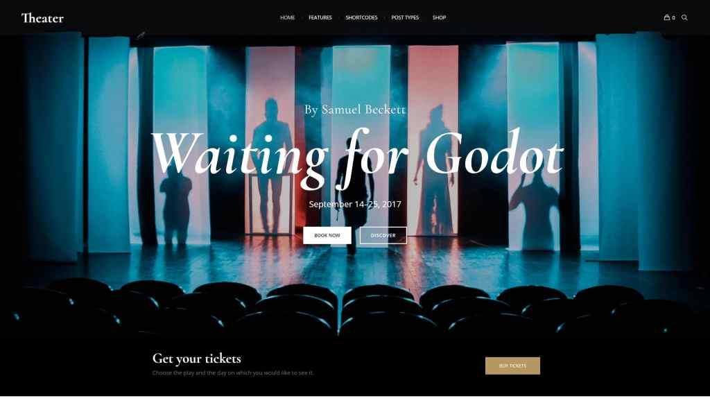 красивые шаблоны WordPress конференции и событий с онлайн-календарем 08