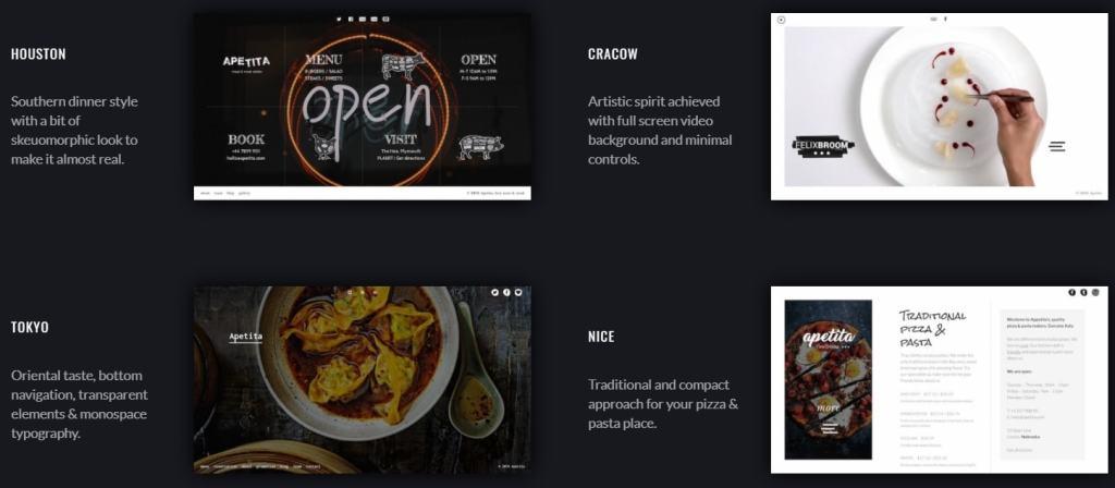 лучшие WordPress шаблоны для ресторана, кафе и бара с меню и доставкой 16