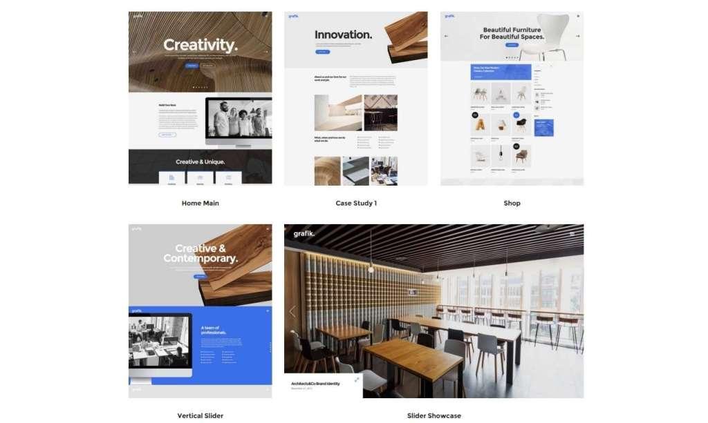 великолепный WordPress портфолио шаблон для сайта 2016