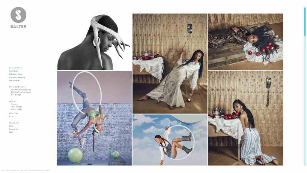 шаблон сайта фотографа с красивой галереей, портфолио и блогом для начинающих и профессионалов 04