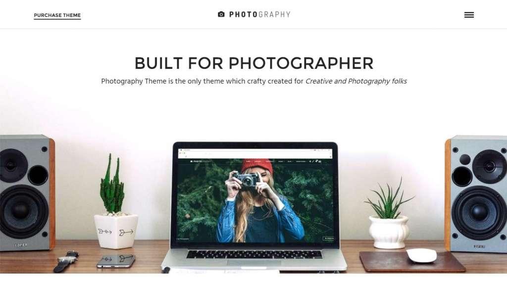 великолепный самый красивый WordPress шаблон 2016