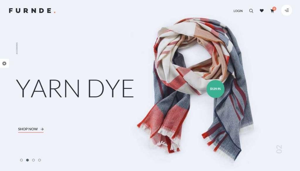великолепный шаблон интернет магазина одежды 2016