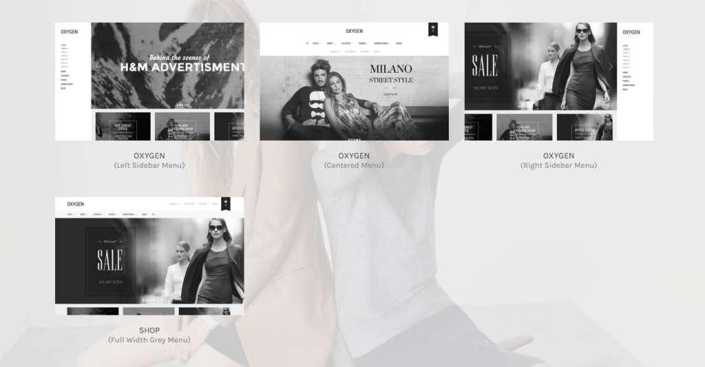 минималистские WP e commerce шаблоны для интернет-магазина 2016