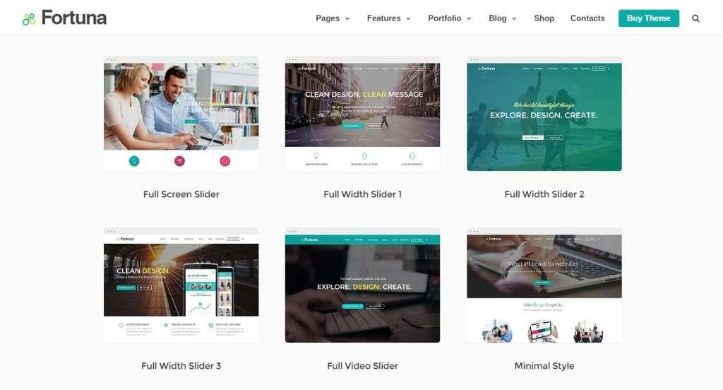 потрясные популярные шаблоны WordPress 2016