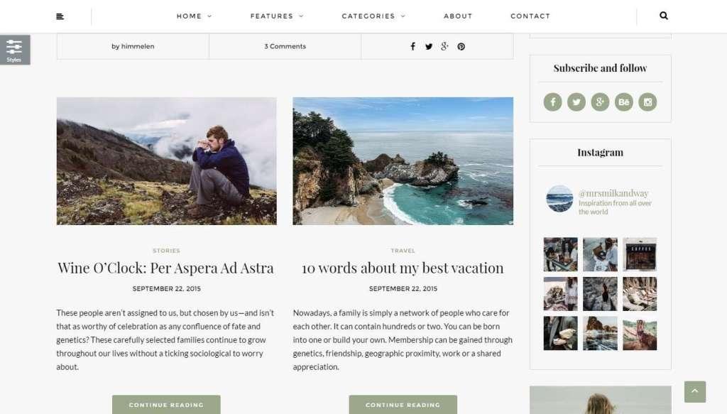 классные WordPress Instagram шаблоны и плагины 2016