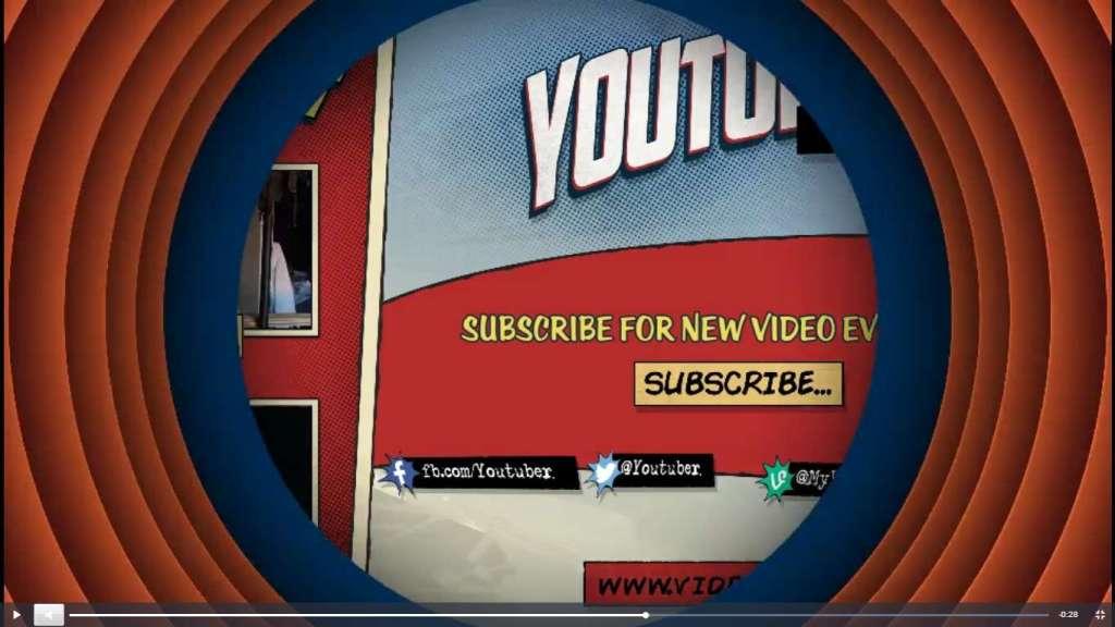 офигенные готовые заставки для видео на Youtube 2017