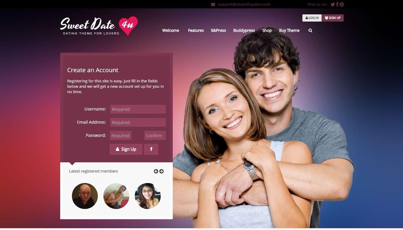 скачать шаблоны для сайта знакомств бесплатно