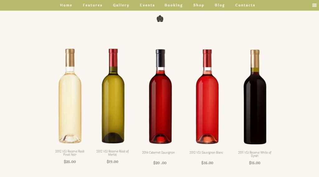 шаблон винный магазин - готовые Woocommerce интернет-магазины для виноделов 4