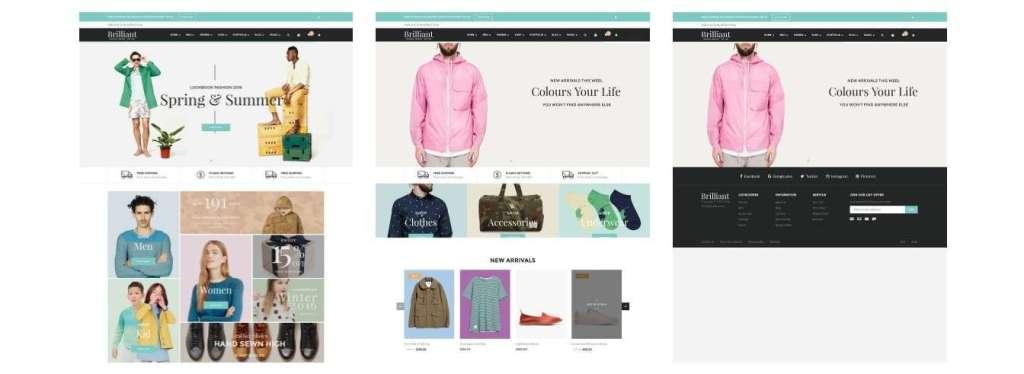 ТОП 10 красивые шаблоны интернет магазинов 2017 11