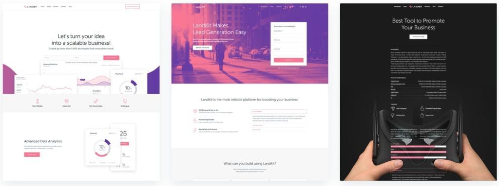 лучшие платные шаблоны сайтов - ТОП красивых сайтов на WordPress 04