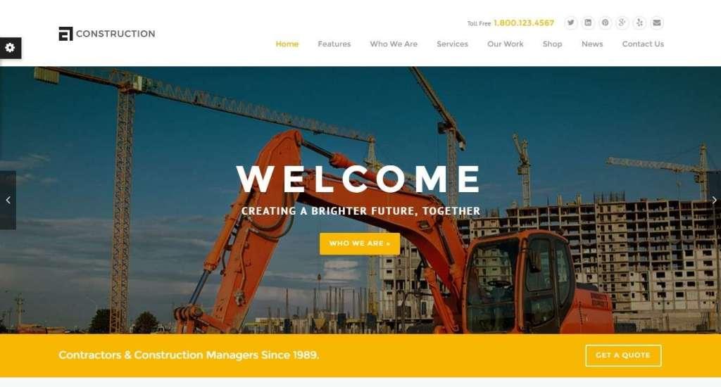 замечательные шаблоны официального сайта