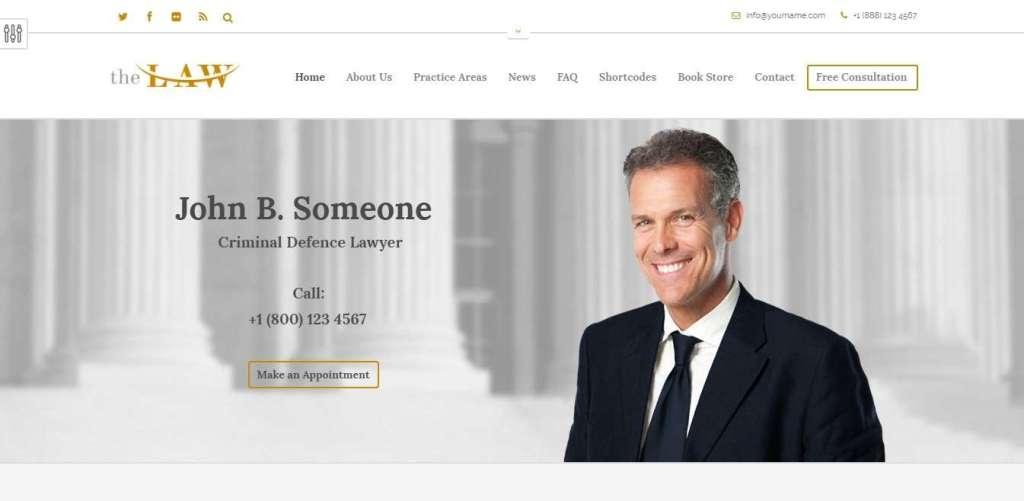 шаблоны юридических сайтов 3
