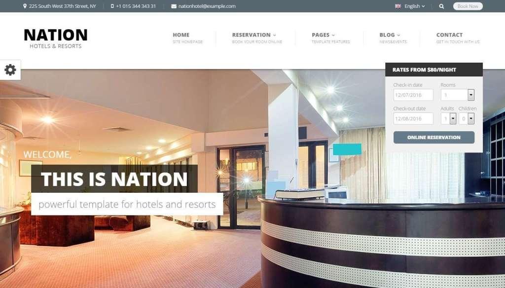 WordPress туризм - первоклассный сайт с премиум дизайном 6
