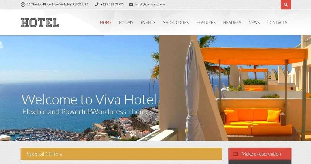 WordPress туризм - первоклассный сайт с премиум дизайном 7