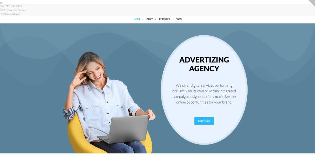Адаптивные WP Темы для интернет-магазина, бизнеса и блога 01
