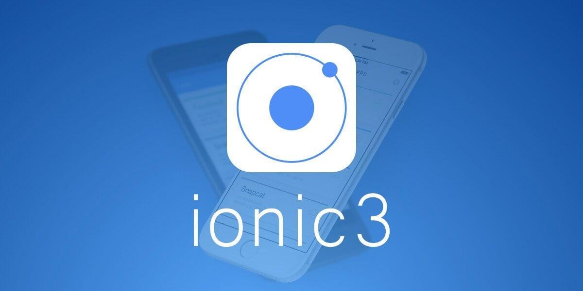 курсы Ionic 3 с созданием чата, магазина и приложения MyTasks 2017