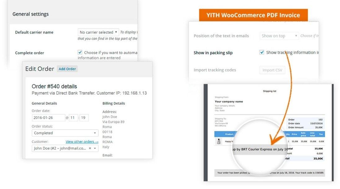WooCommerce отслеживание посылки – Простые покупки в вашем магазине 2