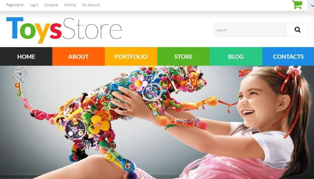 шаблон интернет магазина игрушек: быстрый старт в сфере eCommerce 9