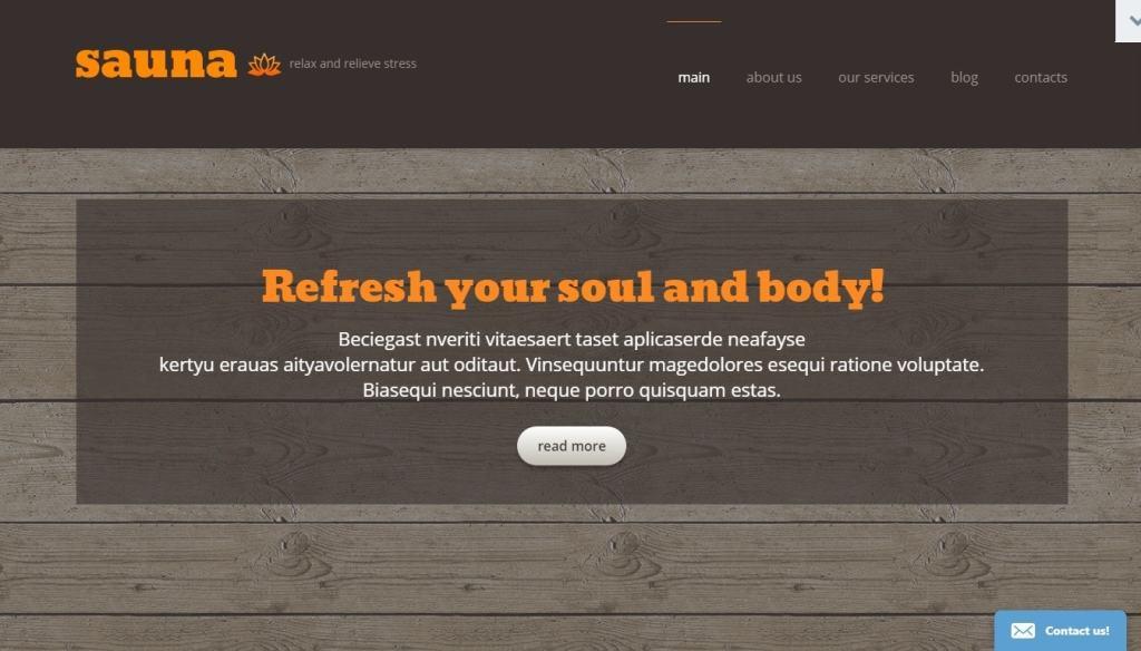 шаблон сайта сауны – достойное решение для вашего бизнеса 4