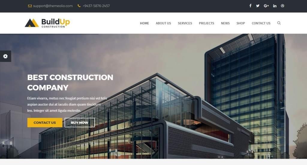 Joomla шаблон с демо данными бизнес красивый сайт за час 7